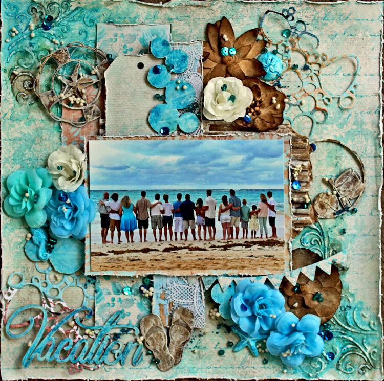 Vacation - Creative Embellishments & Elizabeth Craft Designs