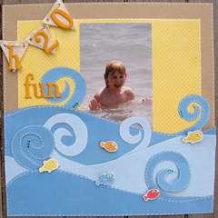 Scrapdango July Reveal - H2O Fun