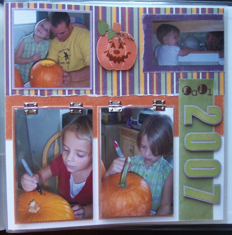 Pumpkin Carving - Right Page
