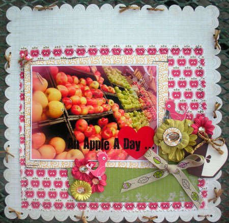 An Apple a day ...**Urban Anthology Aug. kit**