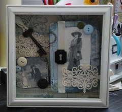 Memory Collage Shadow Box....