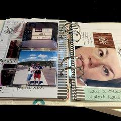 Heidi Swapp Planner page wk 5/16/5/22