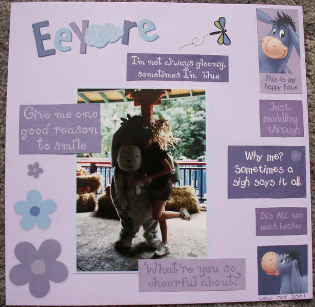 Eeyore (Animal Kingdom 2001)