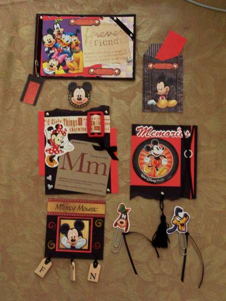 Disney tags, etc...