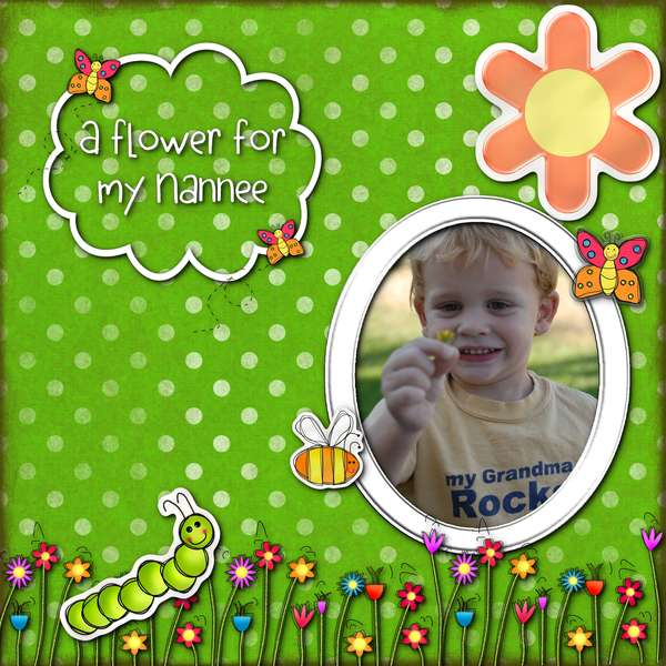 A flower for my Nannee