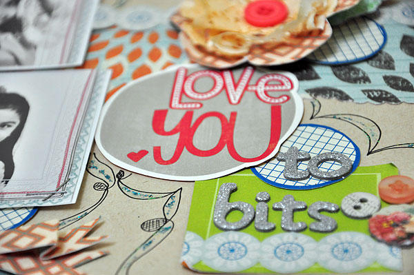 Love you to bits (detail)