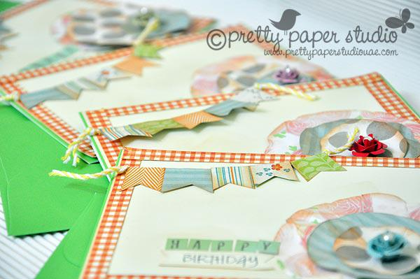 Happy birthday (sset of cards)