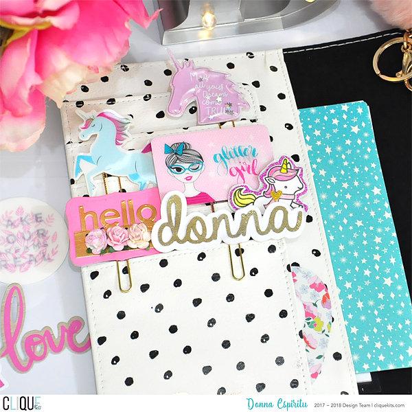 Glitter Girl collection_Planner Setup