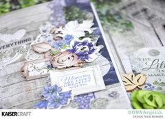 Wandering Ivy Traveler's Notebook Spread