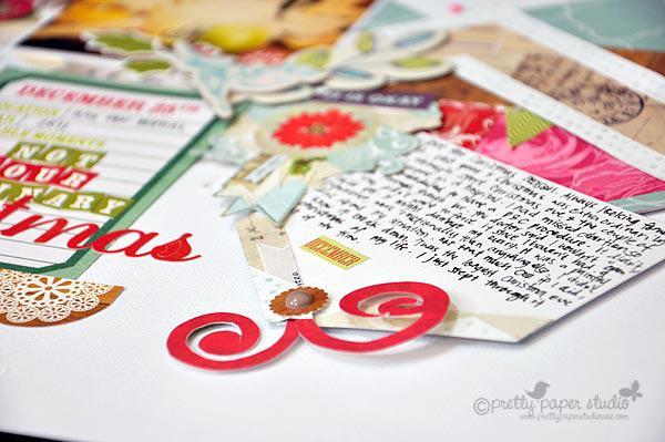 Not your ordinary Christmas (hidden journaling)