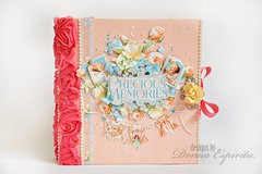 precious memories mixed media album