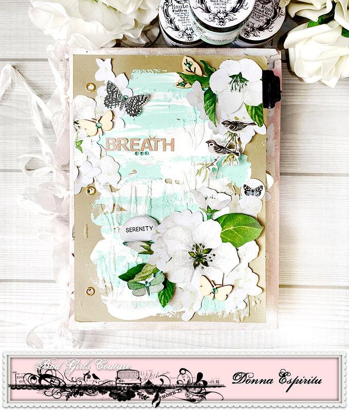 breath art journal page