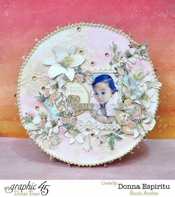 so sweet altered canvas