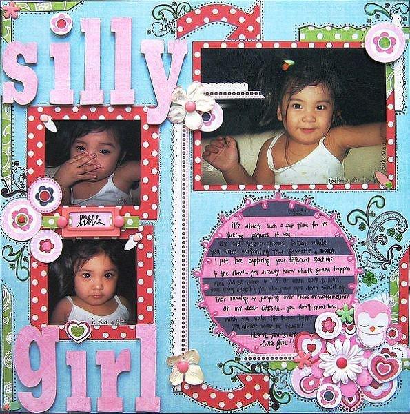 Silly little Girl