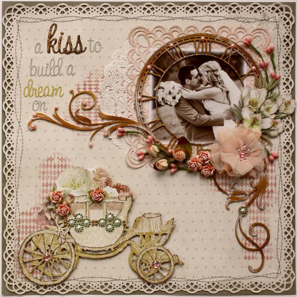 A Kiss to Build a Dream On *Australian Scrapbook Ideas Magazine Cover!!**