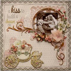 A Kiss to Build a Dream On *Australian Scrapbook Ideas Magazine Cover!!**
