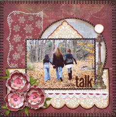 Girl Talk  **MY CREATIVE SCRAPBOOK**