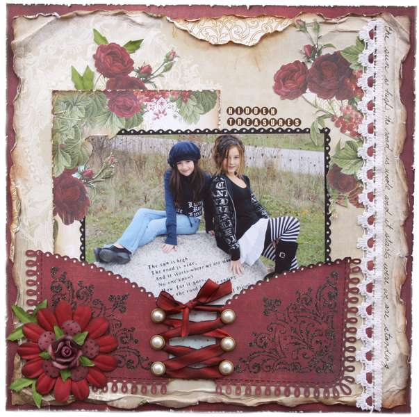 Hidden Treasures  **MY CREATIVE SCRAPBOOK**