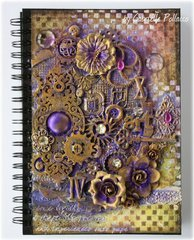 Mixed Media Journal Cover **VIDEO TUTORIAL**