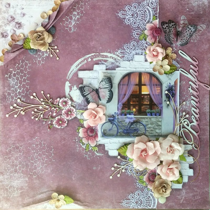 Beautiful **NEW Kit & Video for The Scrapbook Diaries**