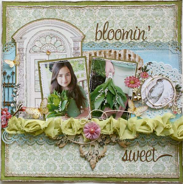 Bloomin' Sweet **Websters Pages Everyday Poetry**