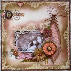 Cherish **Bo Bunny Stamps!**