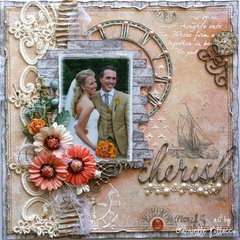 Cherish ~ **Dusty Attic & Maja Design Teams**