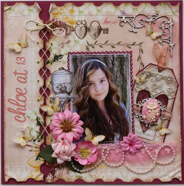 Chloe at 13 **Websters Pages & Dusty Attic**