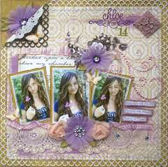 Chloe @14 **NEW Websters Pages**