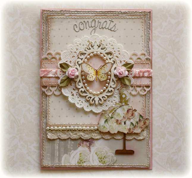 Wedding Congrats Card **Websters Pages 'In Love'**