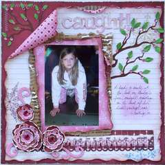 Caught!  ***MY CREATIVE SCRAPBOOK***