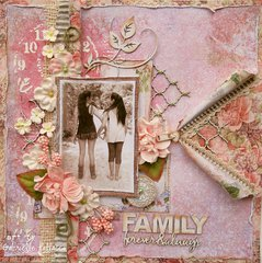 Family ** Double Page Kit-The Scrapbook Diaries**