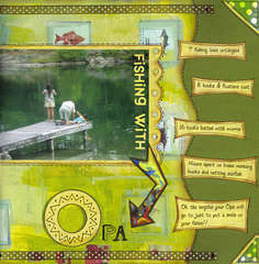 Fishing with Opa (Daisy D's Wonder Years Collection)