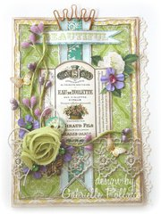 Friendship Card **Webster's Pages ~ PostCards From Paris II**