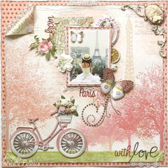 From Paris with Love **NEW!! Dusty Attic & Websters Pages**