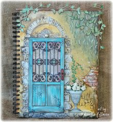 Tuscan Doorway **TCW Stencils I Designed!!!** Plus Video