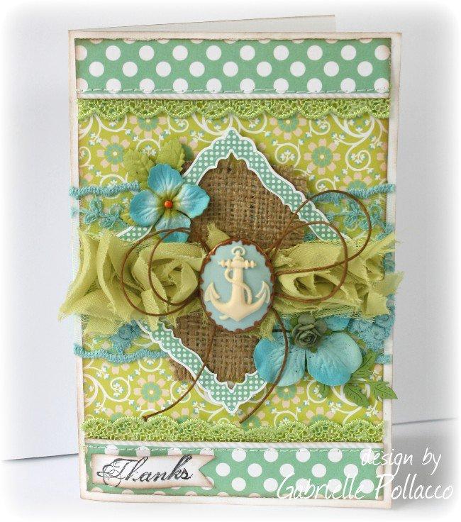 Card **Websters Pages & CardMakers Magazine Blog Hop**