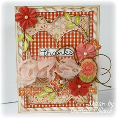 Thank-you Card **Websters Pages & CardMakers Magazine Blog Hop!!**