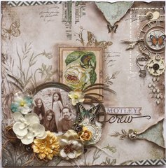 Motley Crew **The Scrapbook Diaries**