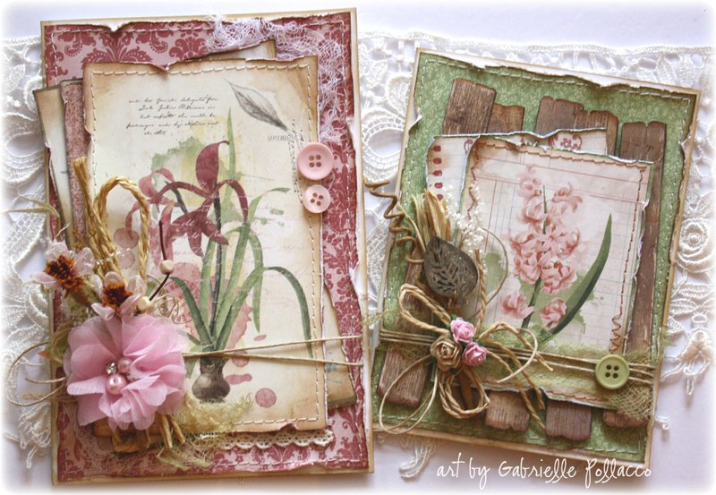 Nature Cards **BoBunny - Garden Journal**