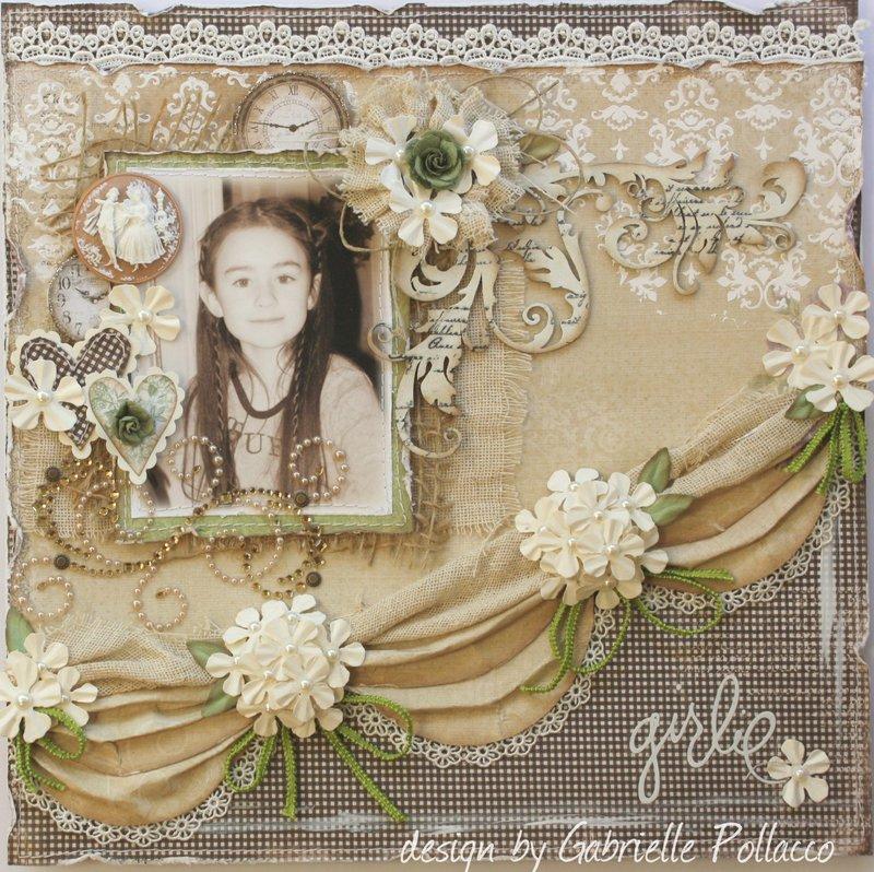 Girlie **Maja Design & Dusty Attic**