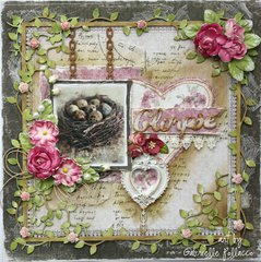 Glimpse **The Scrapbook Diaries & Maja Design**