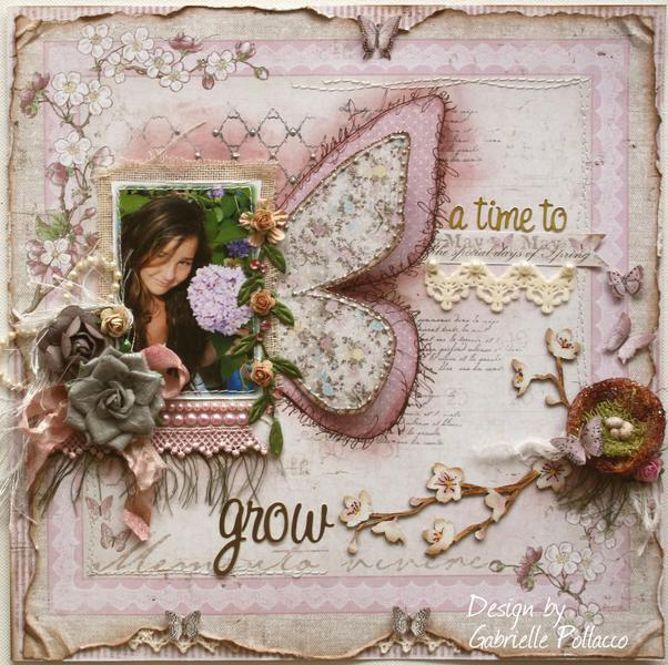 A Time To Grow **MAJA DT** Plus Video Tutorial: How to Make Your Own Vintage Crinkle Ribbon