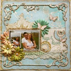 Hugs & Kisses **Australian Scrapbook Ideas Magazine**