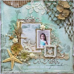 Cherish **Kit Page & VIDEO TUTORIAL** The Scrapbook Diaries