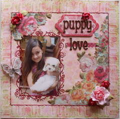 Puppy Love  **MY CREATIVE SCRAPBOOK**
