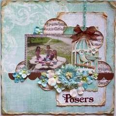 Posers **My Creative Scrapbook**