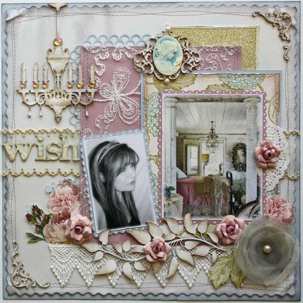 I Wish ~ TCR #72 **Websters Pages & Dusty Attic**