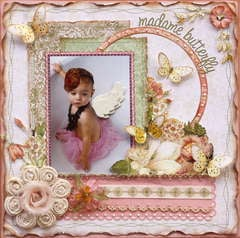 Madame Butterfly  **MY CREATIVE SCRAPBOOK**