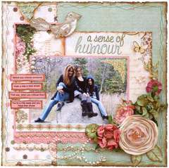 A Sense of Humour  **MY CREATIVE SCRAPBOOK**
